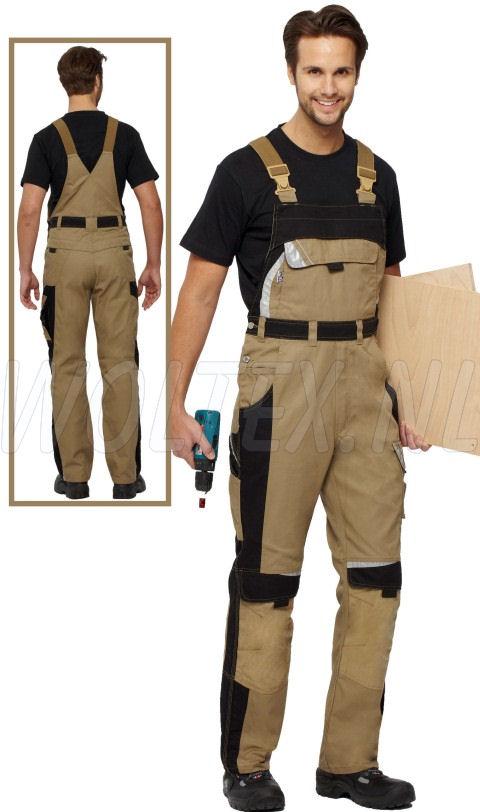 PKA Am. overalls Bestwork New khaki