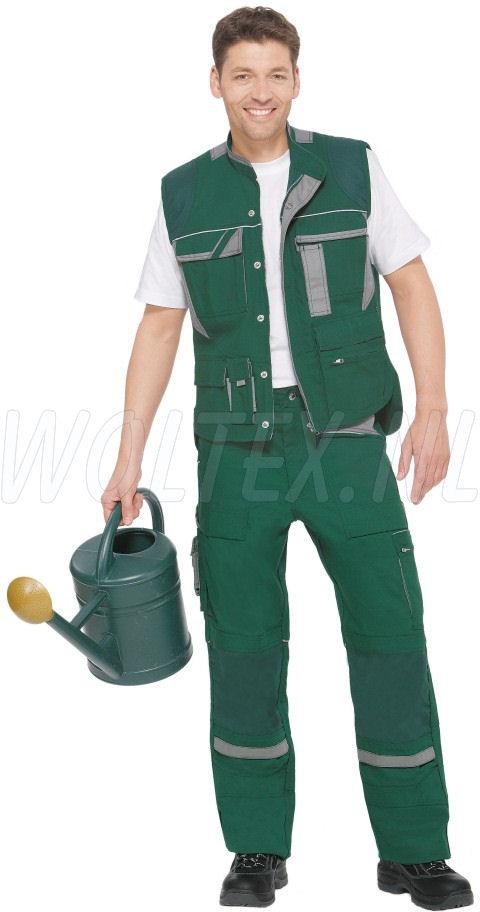 PKA Vesten Threeline De Luxe groen/grijs