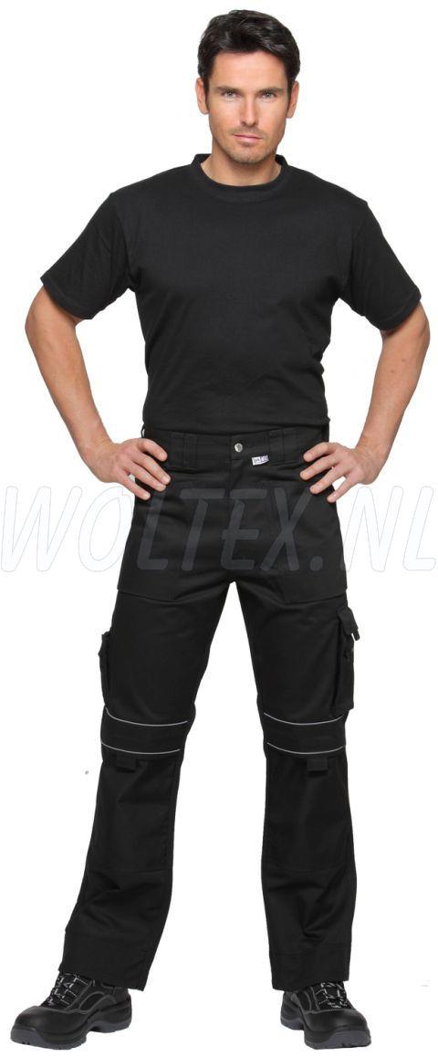 PKA Broeken Black Revolution zwart(S)