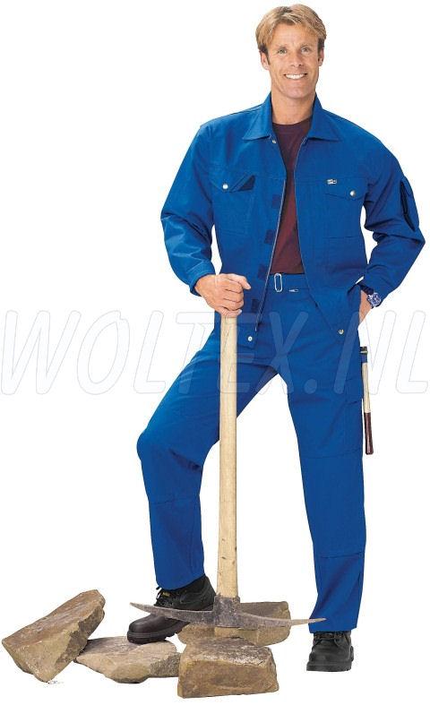 PKA Werkbroeken Threeline Perfekt kobaltblauw