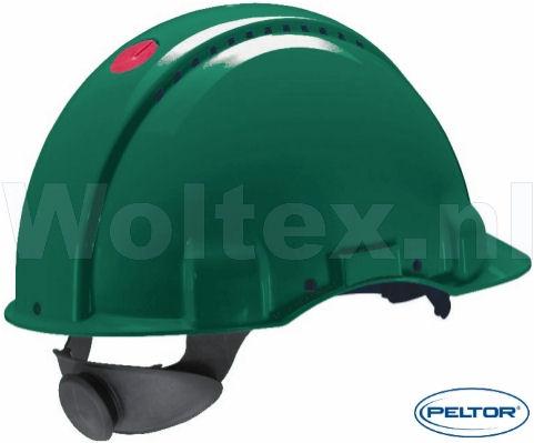 3M Peltor Veiligheidshelmen G3000DUV ABS UV- sensor Ventilatie Omkeerbaar binnenwerk groen