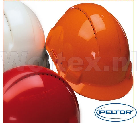 3M Peltor Helmen G3000DUV ABS UV- sensor Ventilatie Omkeerbaar binnenwerk oranje