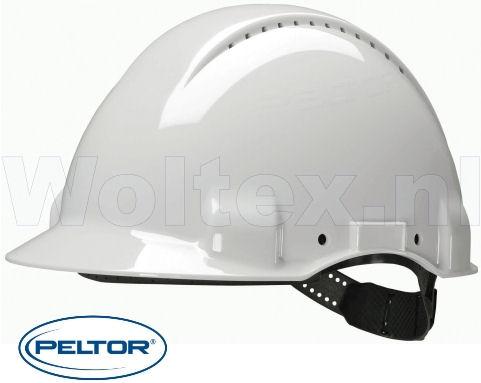 3M Peltor Helmen G3000DUV ABS UV- sensor Ventilatie Omkeerbaar binnenwerk wit