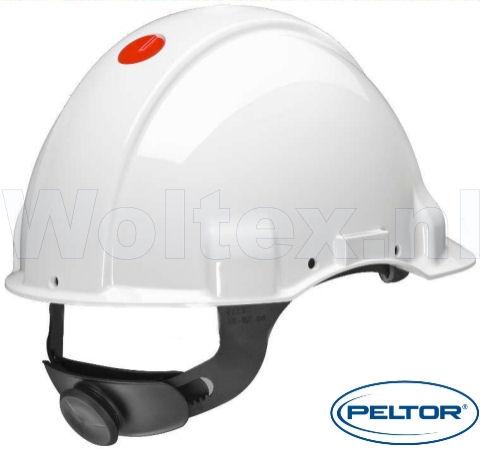 3M Peltor Helmen G3001 1000V ABS UV- sensor Elektriciteit Omkeerbaar binnenwerk wit