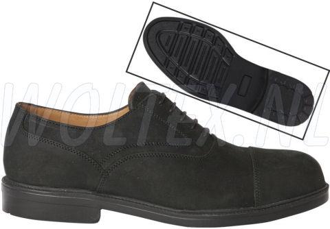 Redbrick Classic S3 Werkschoenen- laag Harvey Veilige neus- zool zwart