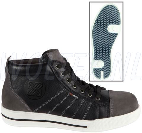 Redbrick Safety Sneakers Granite