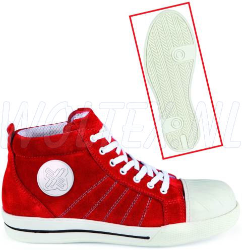 Redbrick Safety Sneakers Red