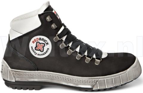 Redbrick Safety Sneakers Freerunner S3 Werkschoenen- hoog Jumper Veilige neus- zool zwart