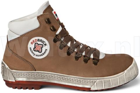 Redbrick Safety Sneakers S3 Werkschoenen- hoog Gravity Veilige neus- zool cognac