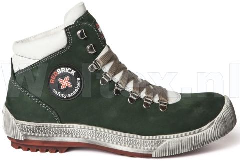 Redbrick Safety Sneakers S3 Werkschoenen- hoog Bounce Veilige neus- zool groen