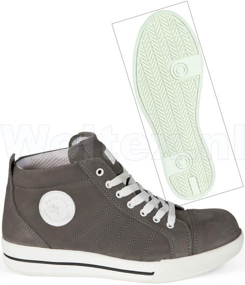 Redbrick Safety Sneakers S3 Werkschoenen- hoog Jesper Veilige neus- zool taupe