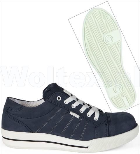 Redbrick Safety Sneakers S3 Werkschoenen- laag Saphire Veilige neus- zool donkerblauw