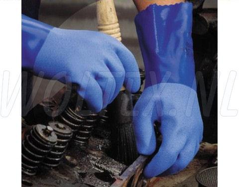 Showa Werkhandschoenen Grip 660 blauw