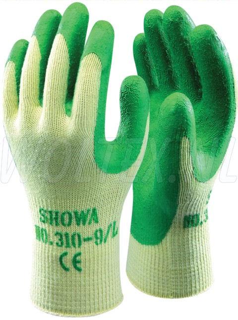 Showa Werkhandschoenen Grip 310 Kunststof-ademend groen