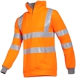 Sioen Sweaters Bindal Polyester- viscose Stretch fluo oranje-grijs