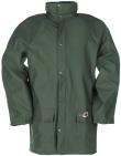 Sioen Regenjassen Dortmund Polyester- PU Stretch groen khaki