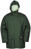 Sioen Regenjassen Bantur Polyester- PU Stretch groen khaki
