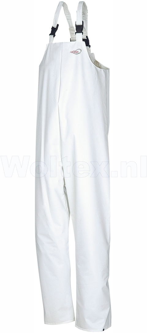Sioen Amerikaanse overalls Killybeg Polyamide- PU Stretch wit