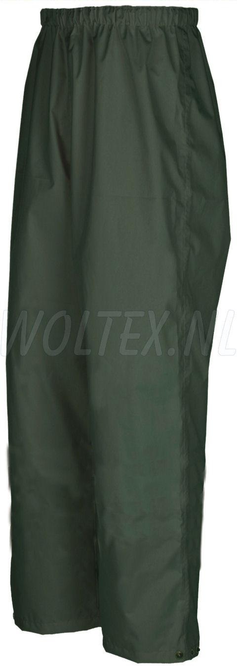 Sioen Regenbroeken Murray Polyester- PU Waterdicht Ademend groen khaki