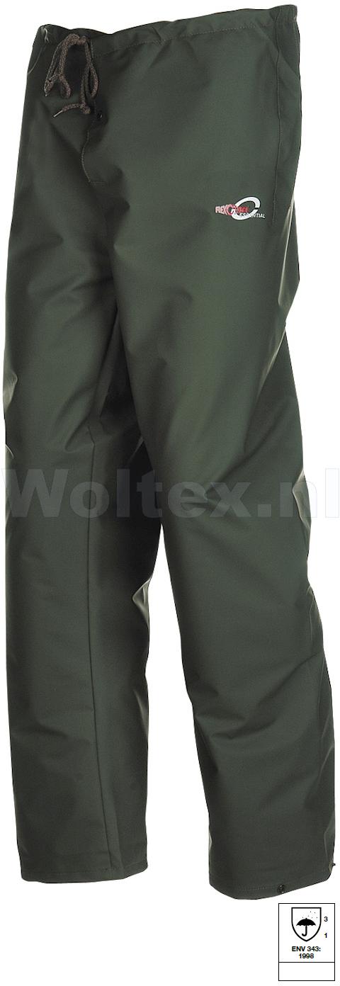 Sioen Regenbroeken Surakarta  groen khaki