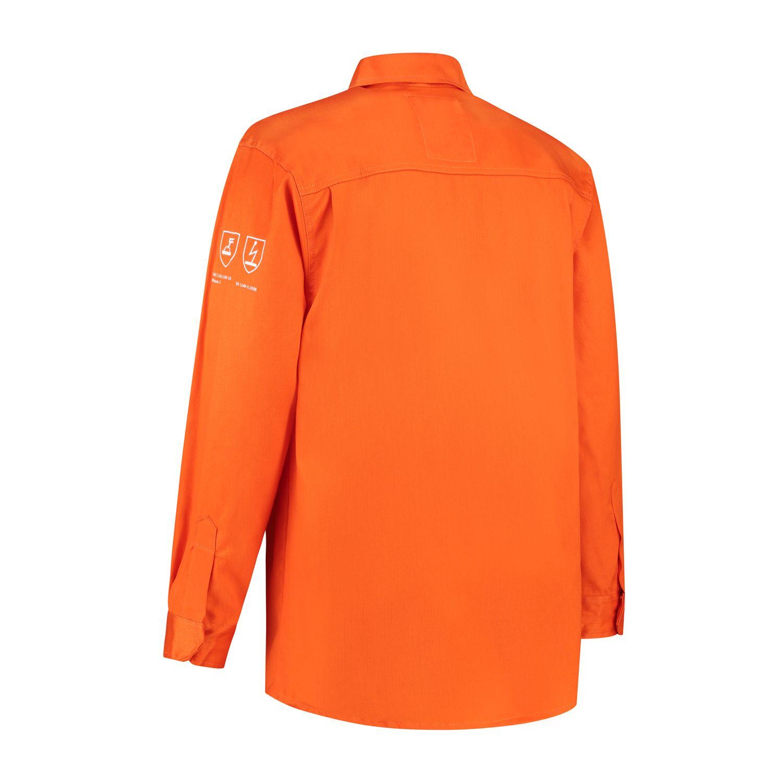Noname Shirts BLVLAS Antistatisch- vlamvertragend oranje(ORANJE)