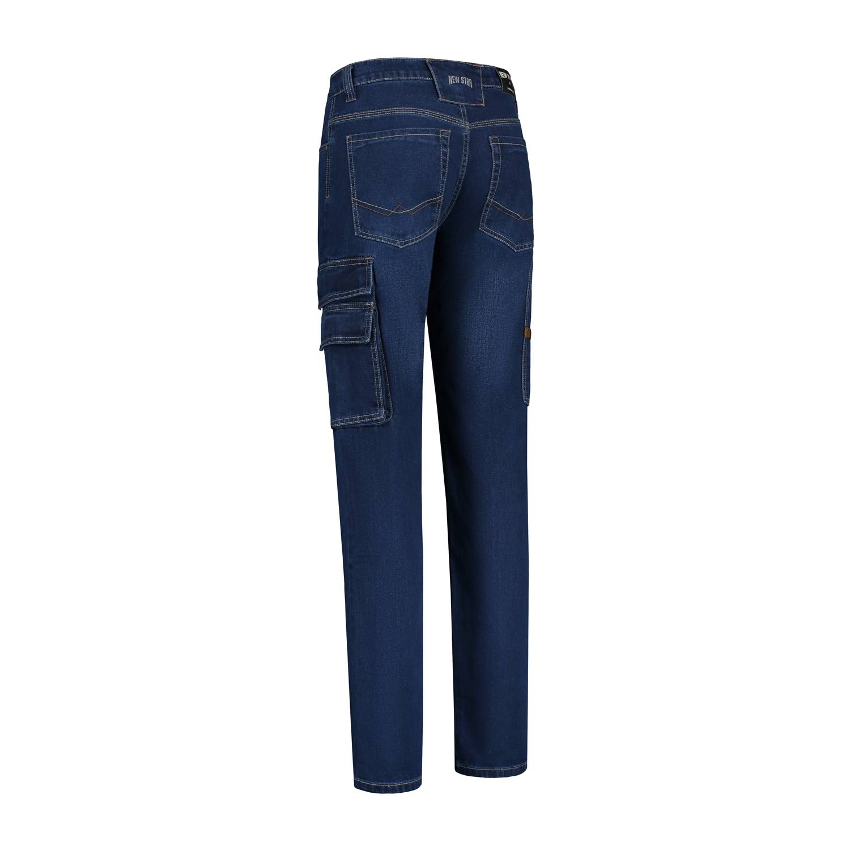 Noname Broeken Oregon Stretch stonewash blue()