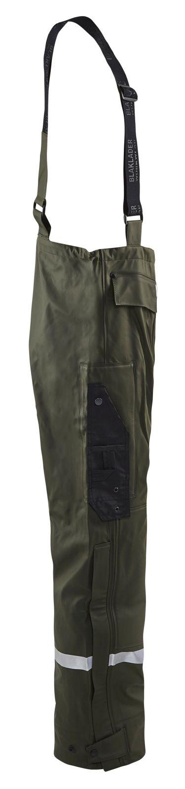Blaklader Broeken 13022003 High Vis army groen(4600)