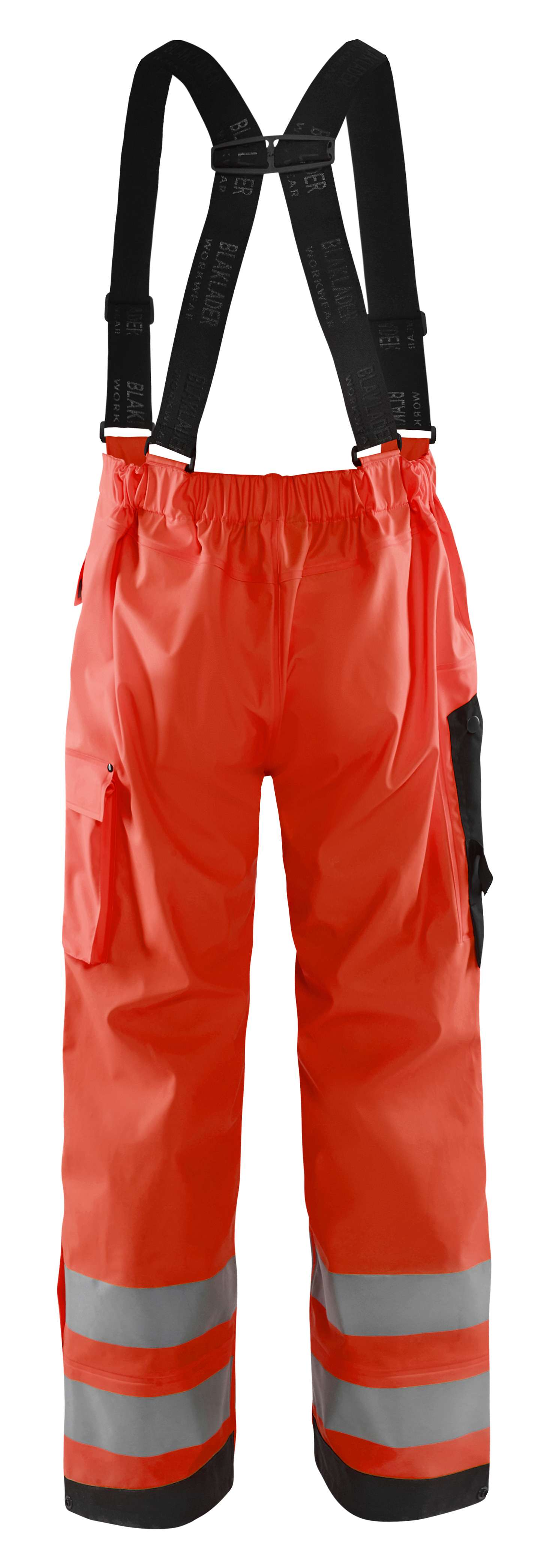 Blaklader Regenbroeken 13022003 High Vis fluor rood(5500)