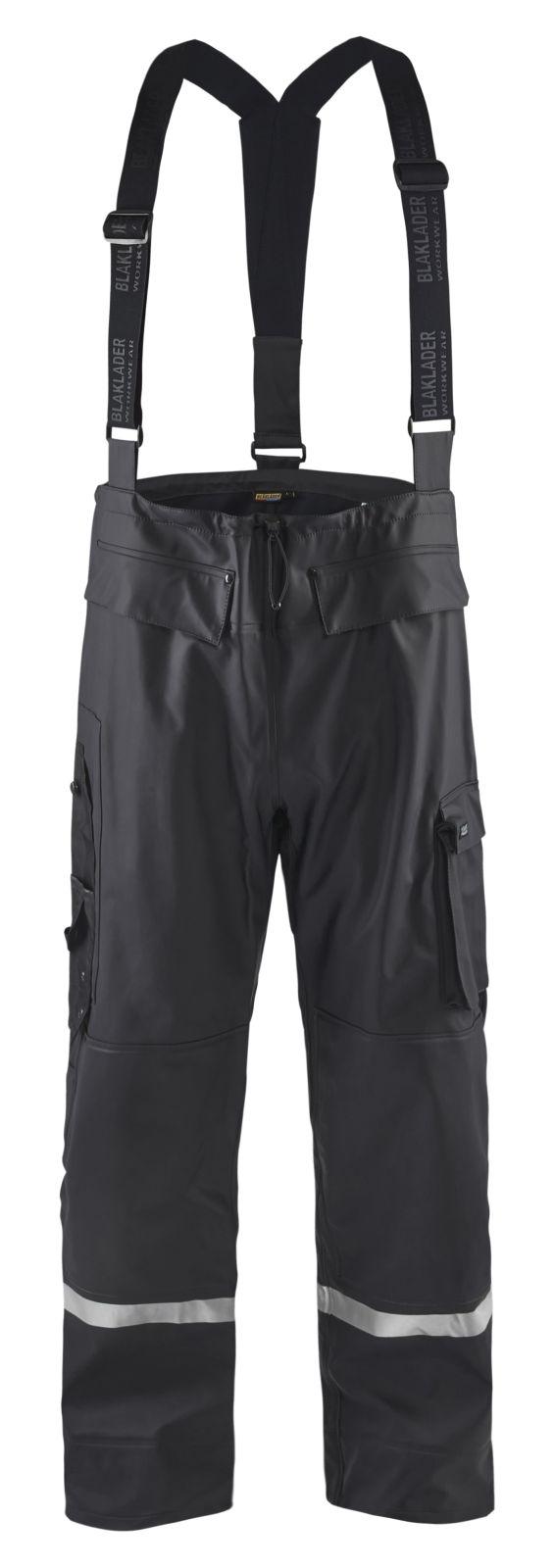 Blaklader Regenbroeken 13022003 High Vis zwart(9900)