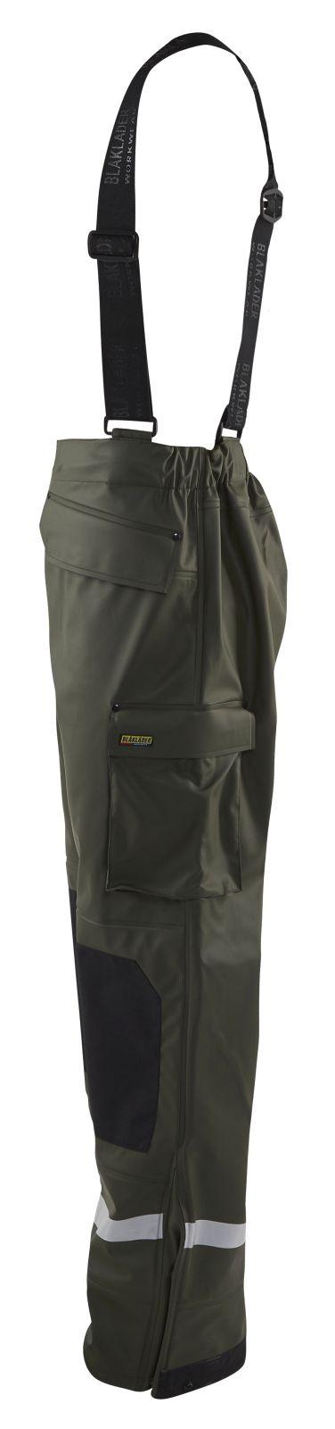 Blaklader Regenbroeken 13052003 army groen(4600)