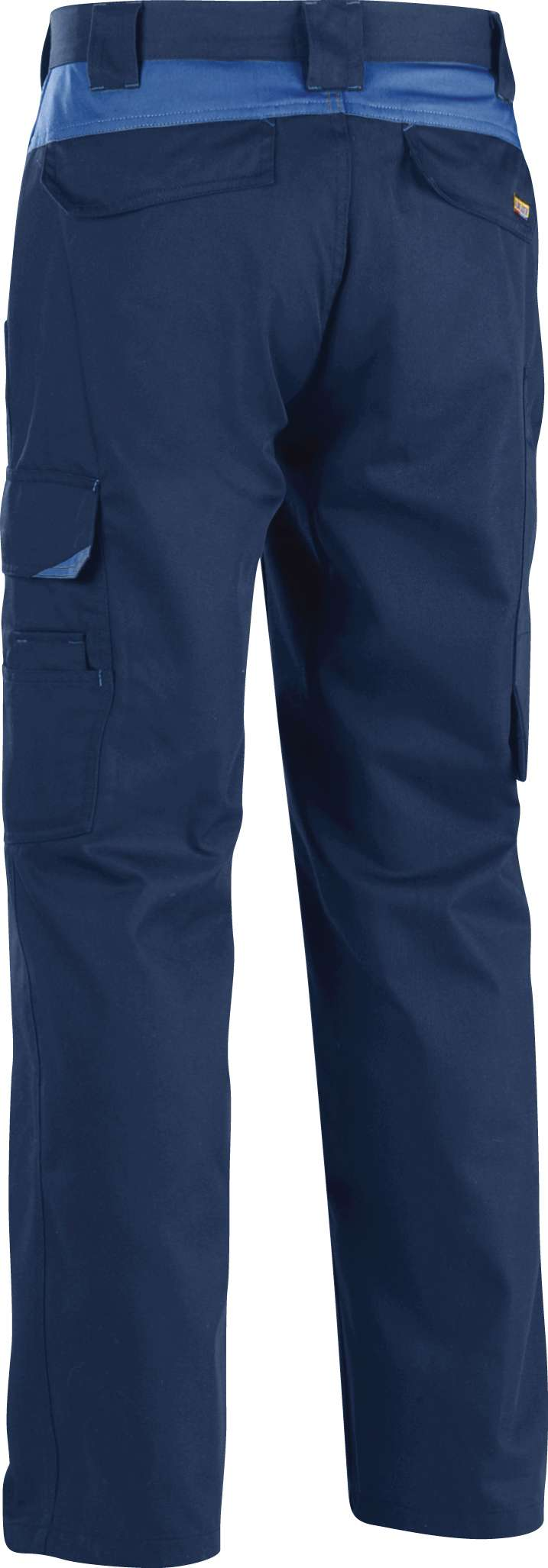 Blaklader Werkbroeken 14041210 marineblauw-korenblauw(8884)
