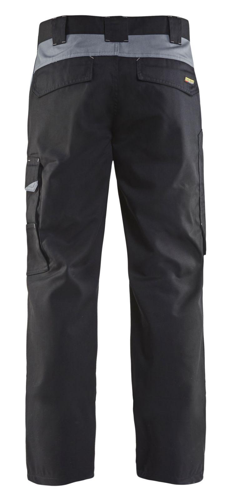 Blaklader Broeken 14041210 zwart-grijs(9994)