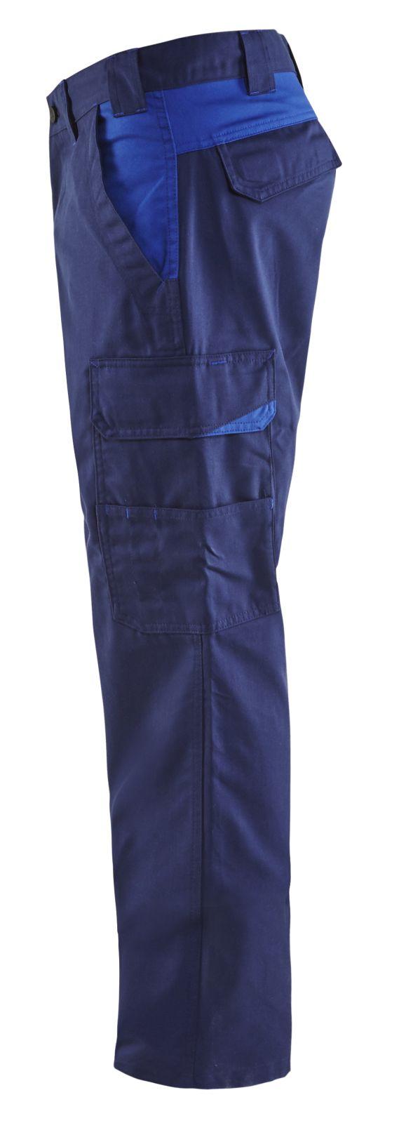 Blaklader Werkbroeken 14041800 marineblauw-korenblauw(8985)