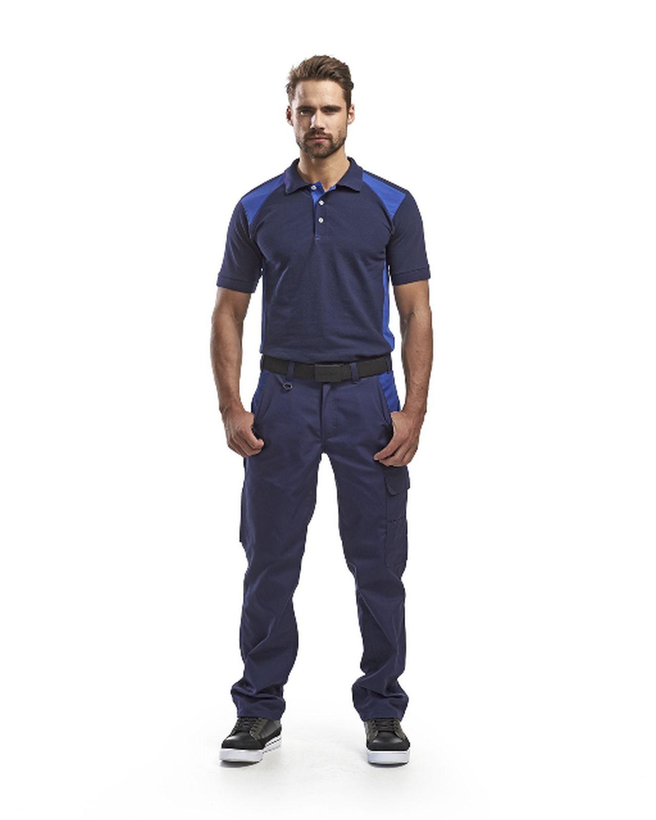 Blaklader Broeken 14041800 marineblauw-korenblauw(8985)