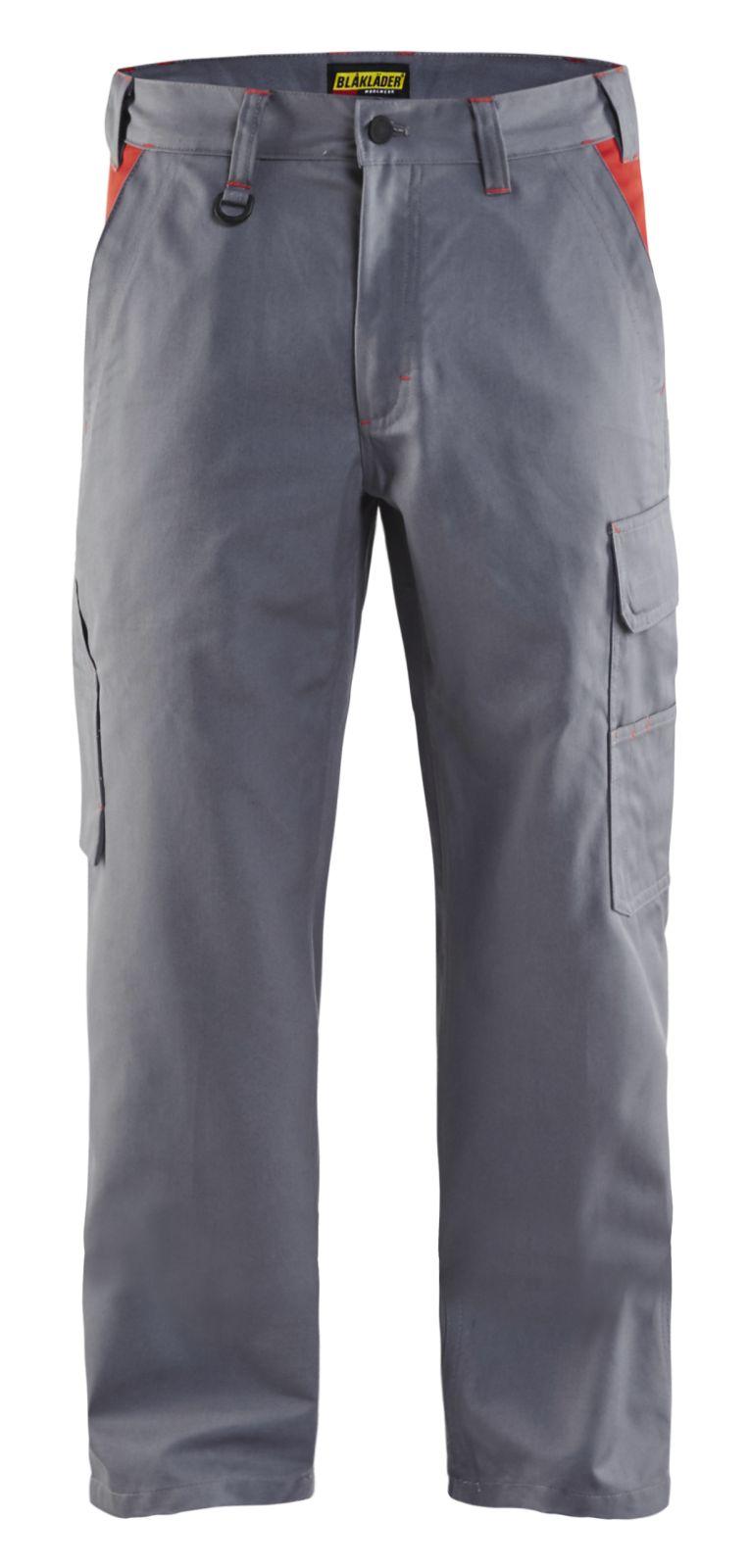 Blaklader Werkbroeken 14041800 grijs-rood(9456)