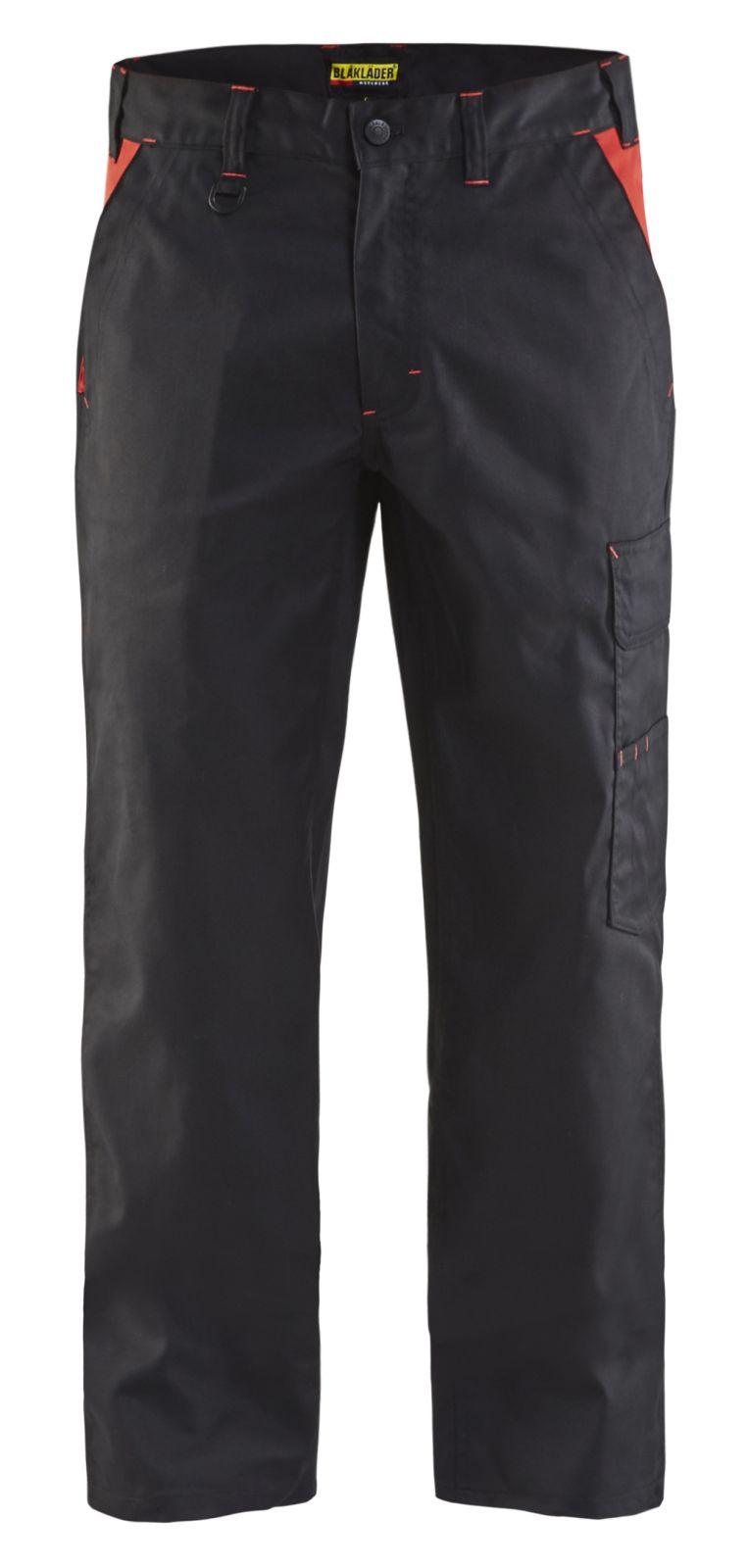Blaklader Werkbroeken 14041800 zwart-rood(9956)