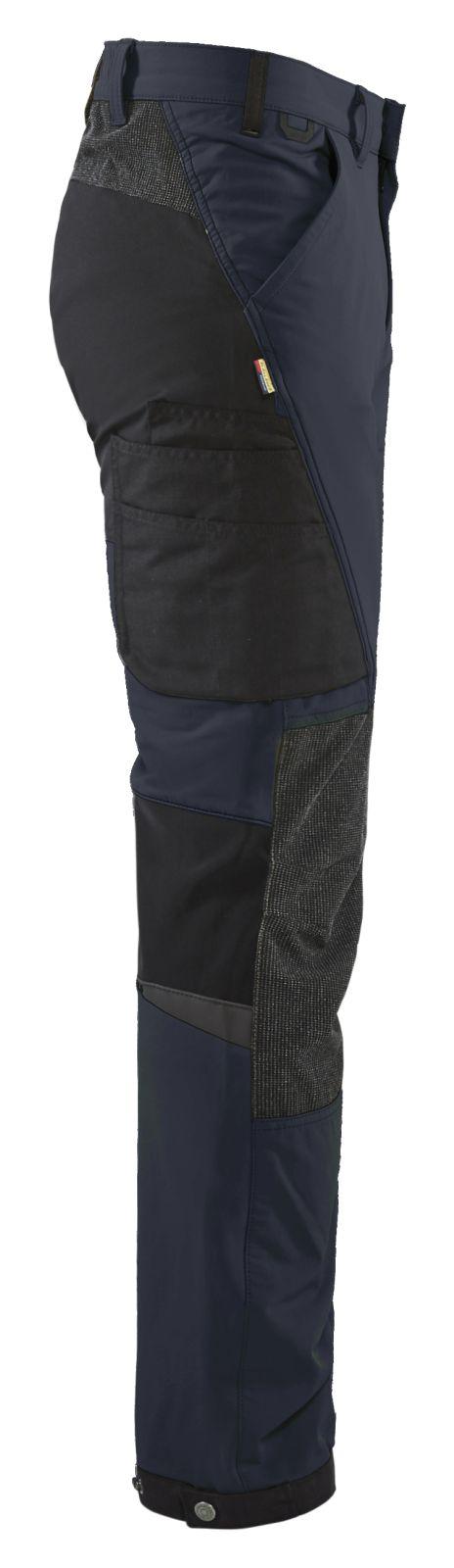 Blaklader Broeken 14221645 donker marineblauw-zwart(8699)