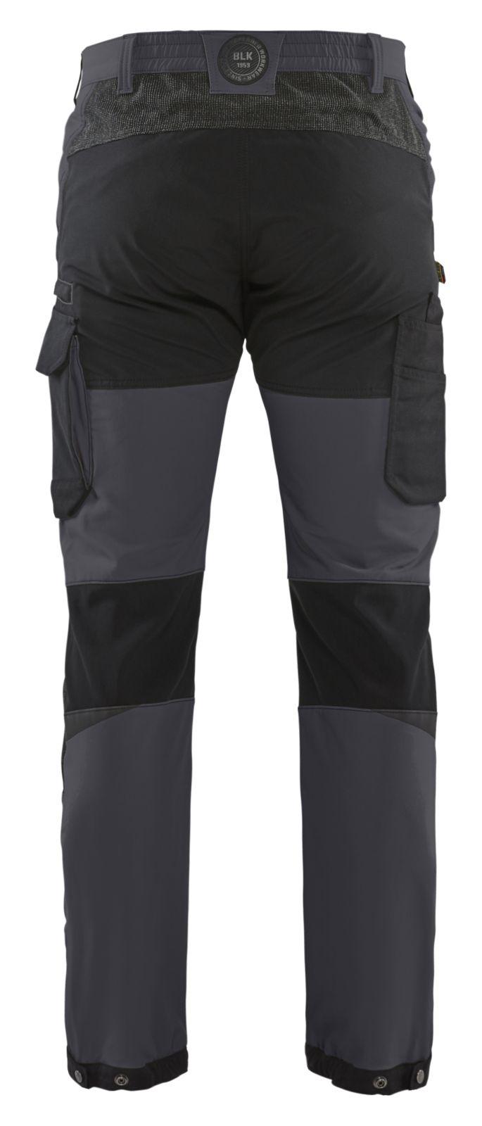 Blaklader Broeken 14221645 midden grijs-zwart(9699)