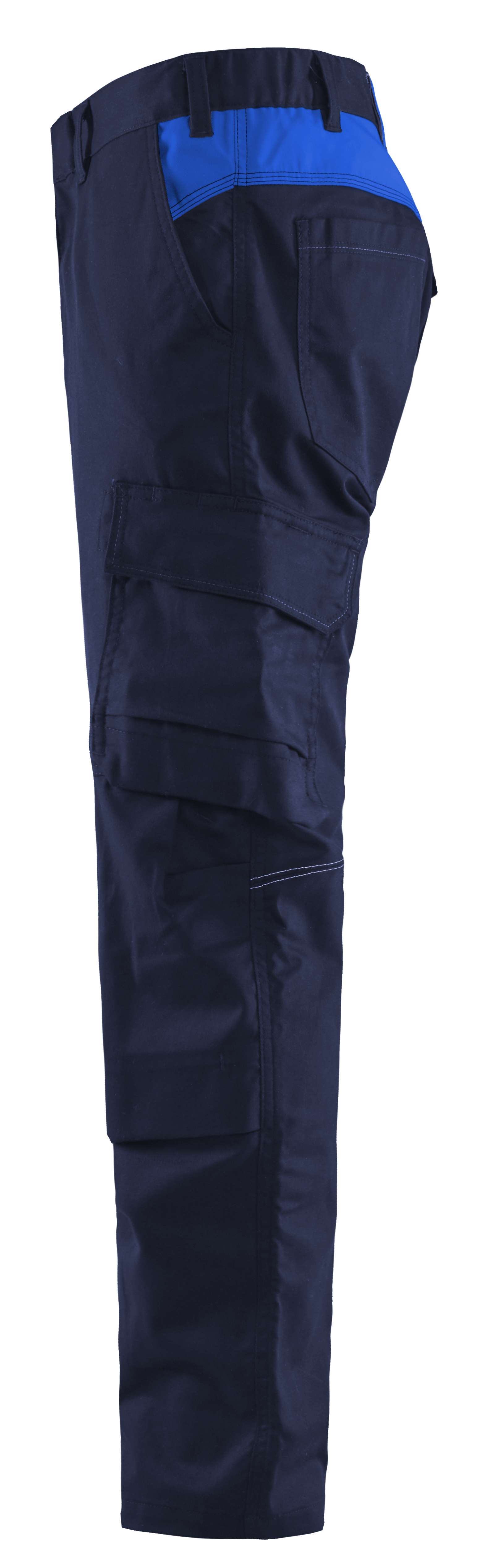 Blaklader Broeken 14481832 marineblauw-korenblauw(8985)