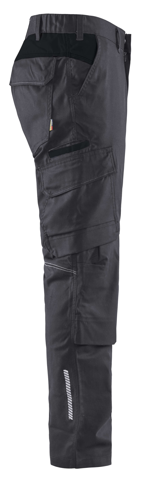 Blaklader Broeken 14481832 midden grijs-zwart(9699)