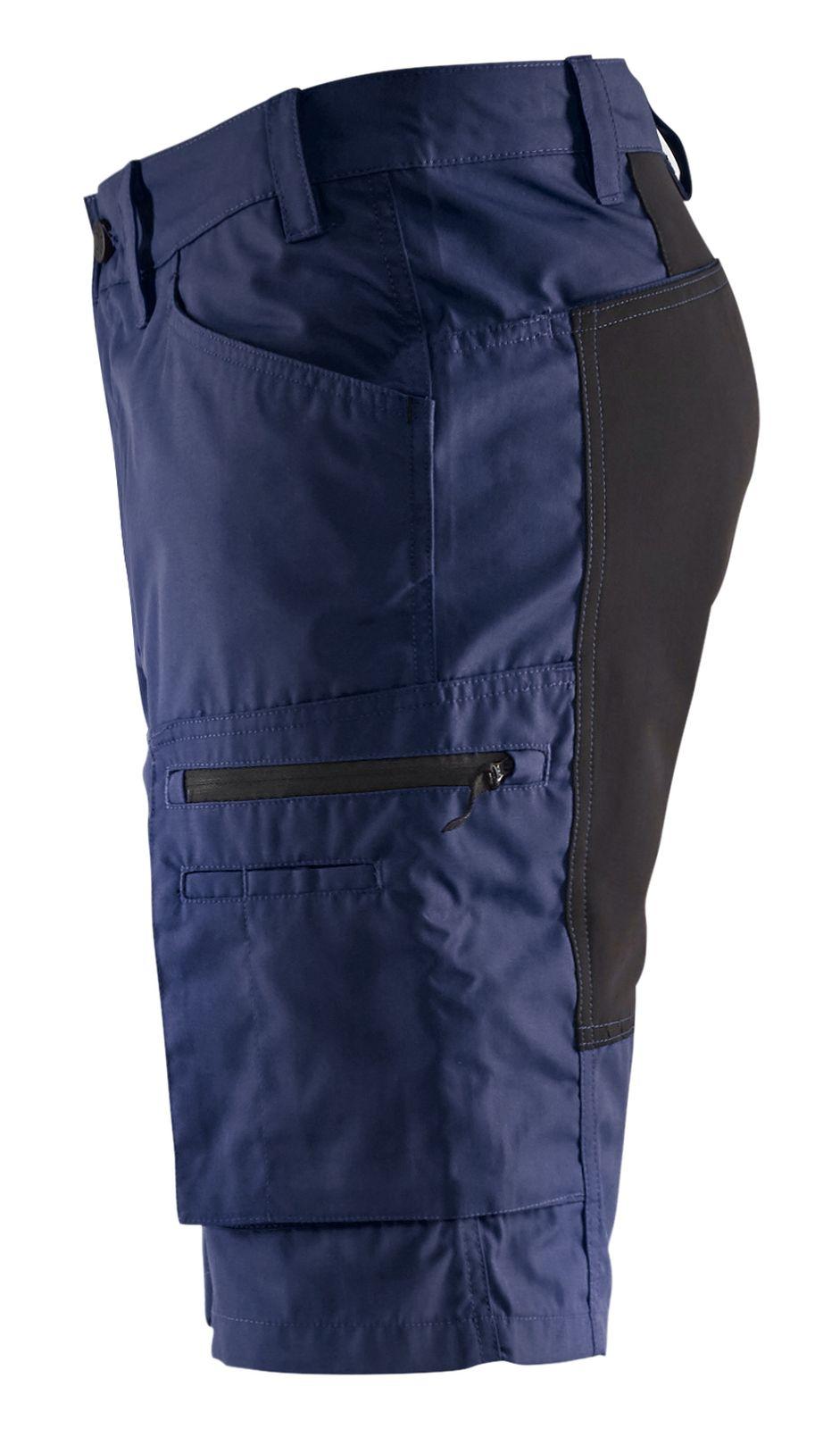 Blaklader Broeken 14491845 met Stretch marineblauw-zwart(8999)