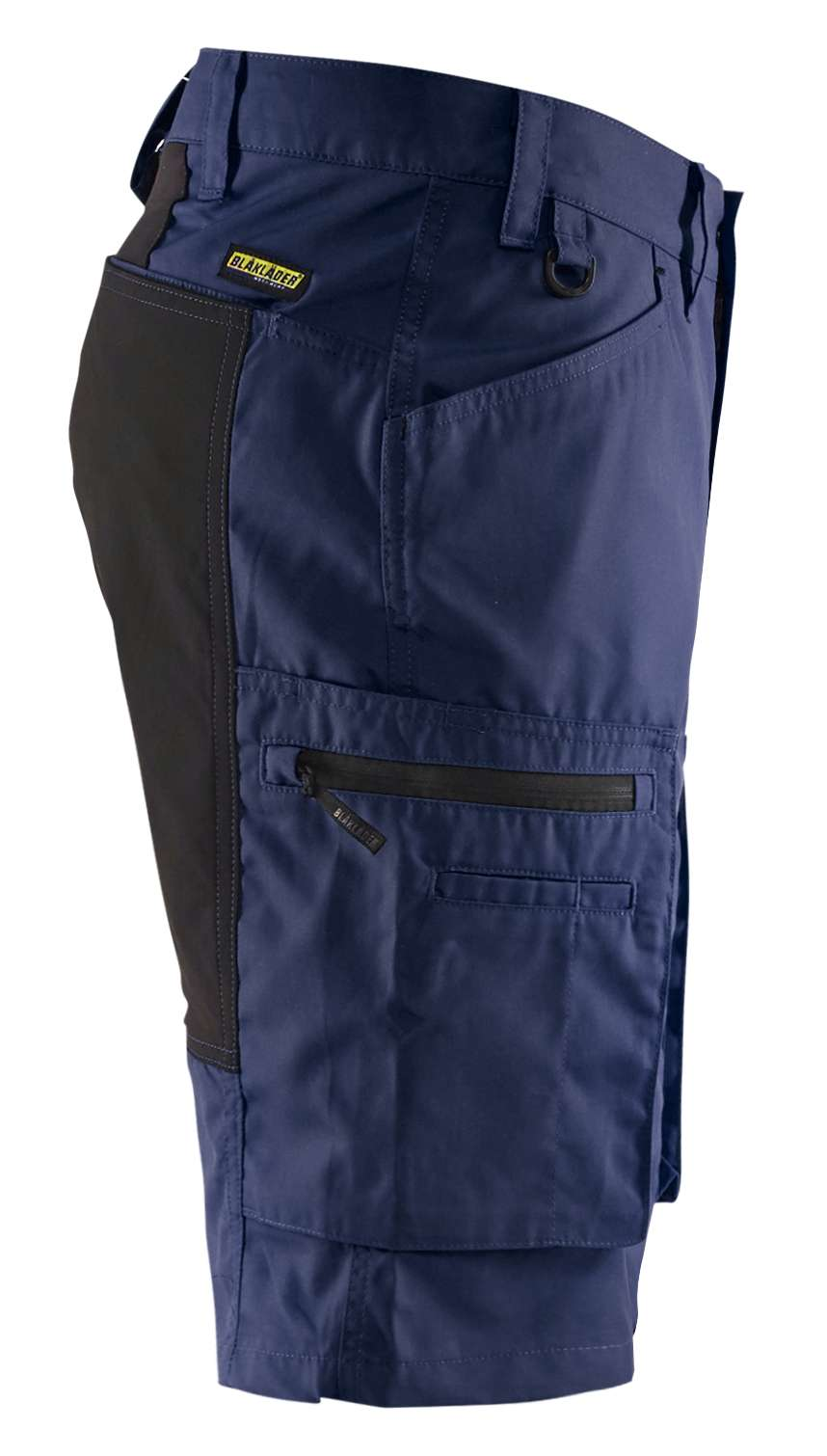 Blaklader Korte werkbroeken 14491845 met Stretch marineblauw-zwart(8999)