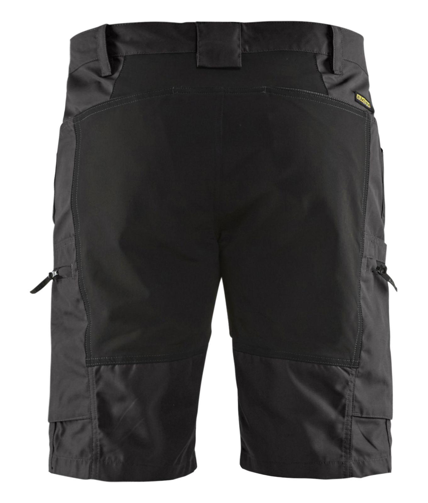 Blaklader Korte werkbroeken 14491845 met Stretch zwart(9900)