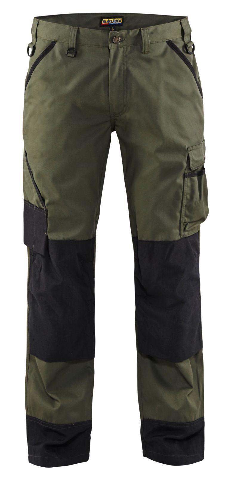 Blaklader Broeken 14541835 army groen-zwart(4699)