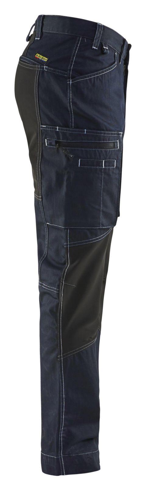 Blaklader Werkbroeken 14591142 met Stretch marineblauw-zwart(8999)