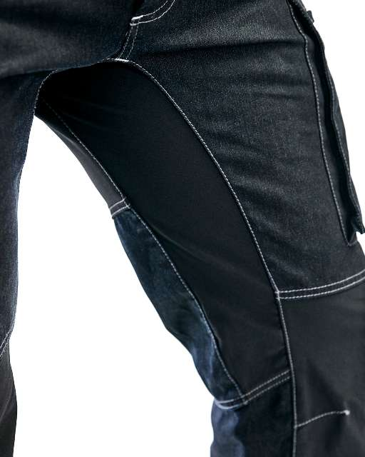 Blaklader Broeken 14591142 met Stretch marineblauw-zwart(8999)