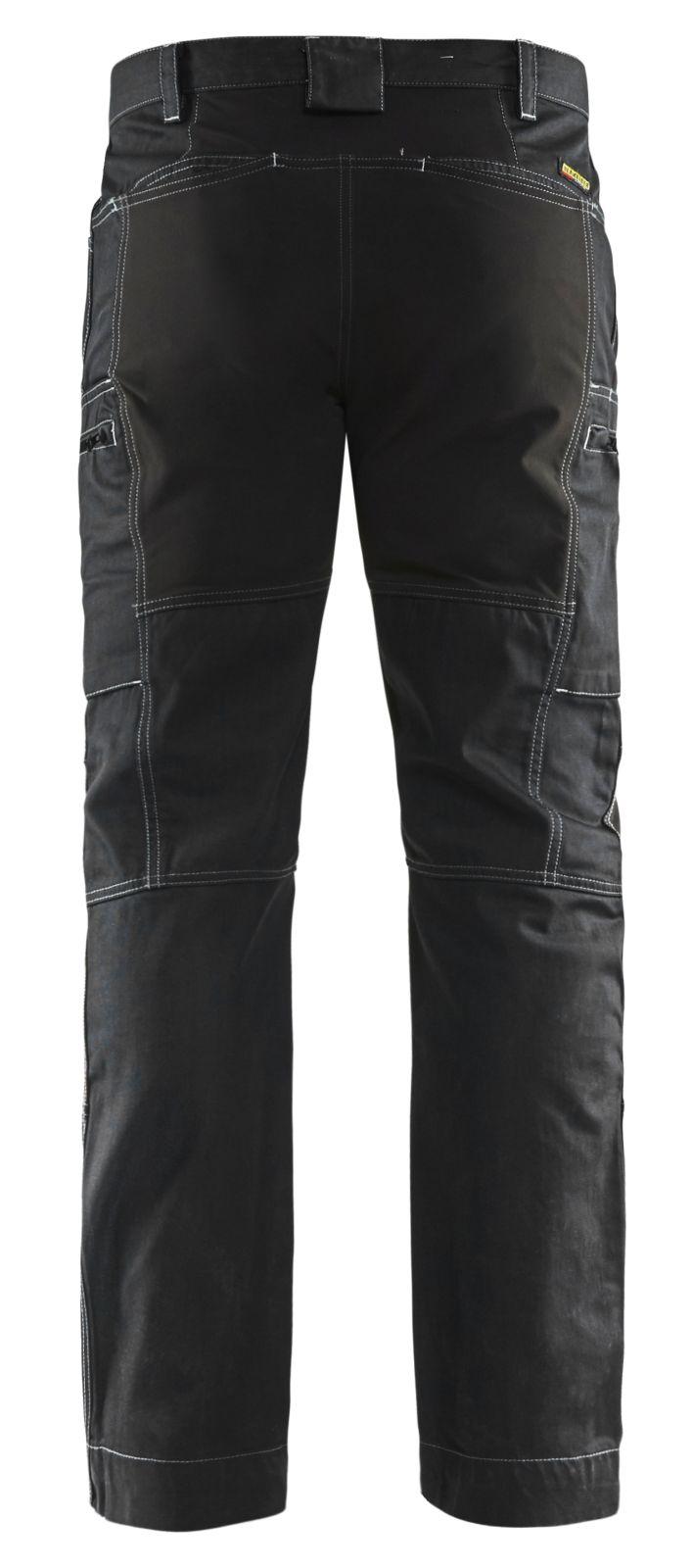 Blaklader Werkbroeken 14591142 met Stretch zwart(9900)