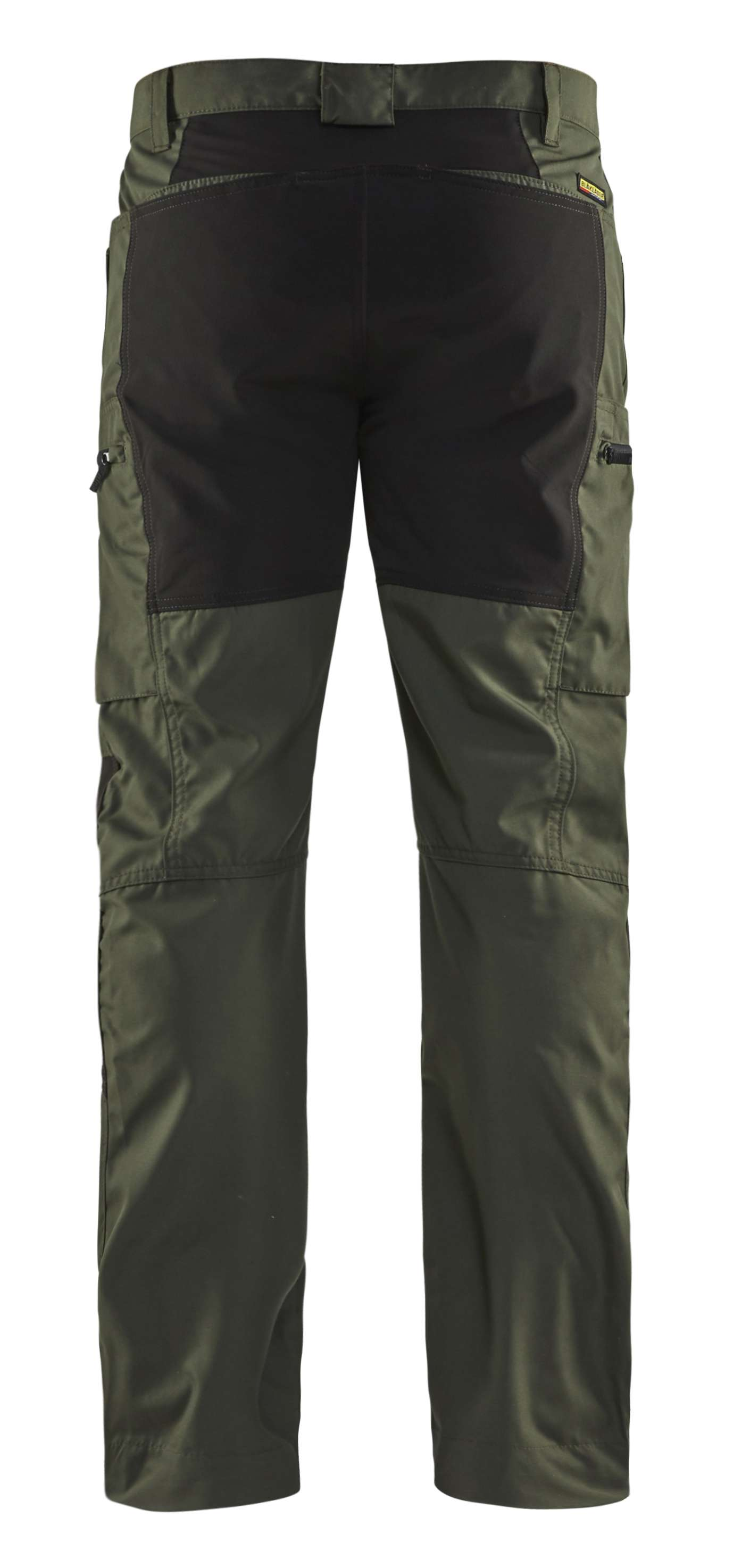 Blaklader Broeken 14591845 met Stretch army groen-zwart(4699)