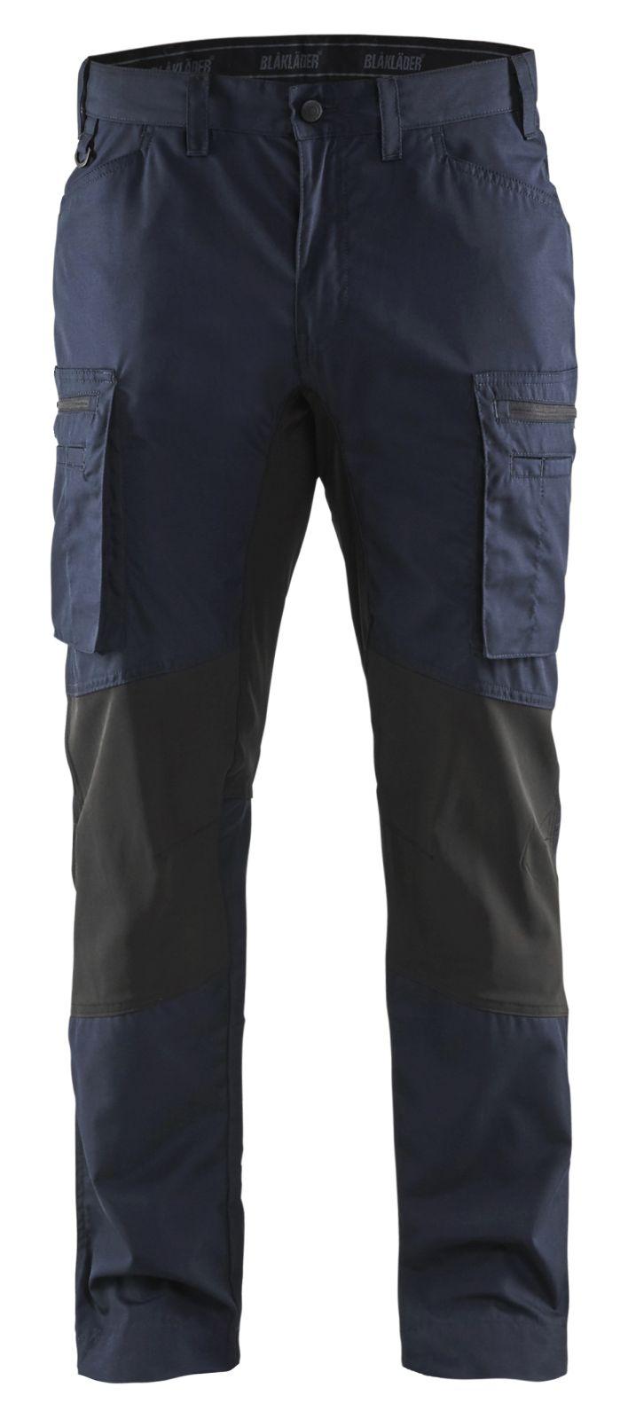 Blaklader Werkbroeken 14591845 met Stretch donker marineblauw-zwart(8699)