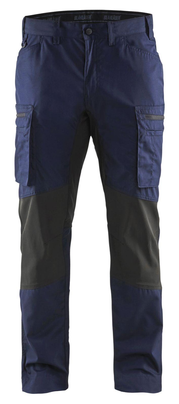Blaklader Werkbroeken 14591845 met Stretch marineblauw-zwart(8999)